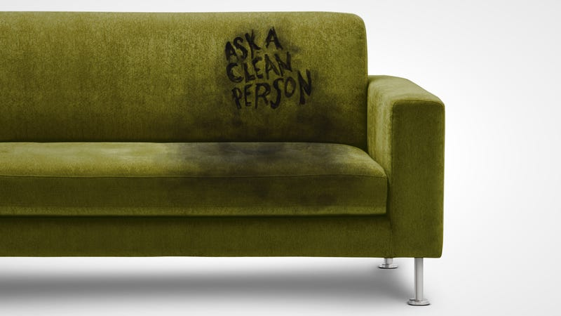 green antique sofa help my couch is humiliating