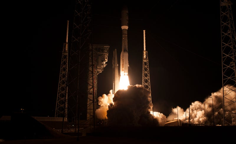 An Atlas V rocket carrying the GOES-R satellite lifted off from Cape Canavereal on November 19th. Image: NASA