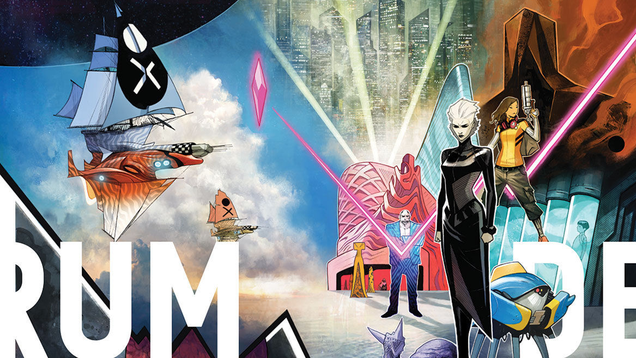 Jonathan Hickman's Newest Series Is Sci-Fi Epic Decorum, Launching This March