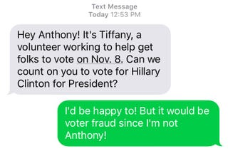 Illustration for article titled Fuck you Anthony for giving a fake number!