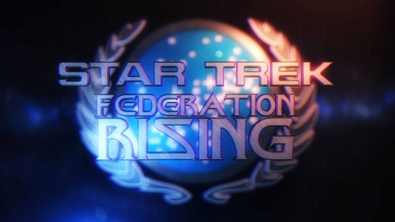 Image: Logo for the now defunct Federation Rising from the Star Trek: Horizon Facebook page