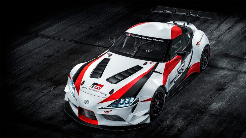 Illustration for article titled The New Toyota Supra Definitely Won't Have A Manual