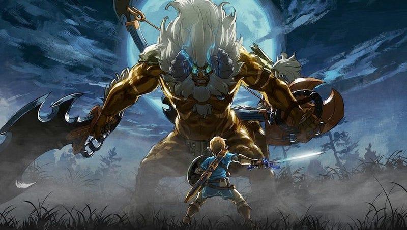 Illustration for article titled Hay un maravilloso homenaje a Zelda: Ocarina of Time oculto en Breath of the Wild