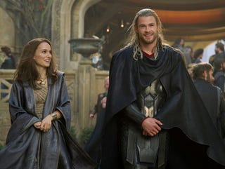 Illustration for article titled Official Thor 2 pics reveal Natalie Portman's magical journey