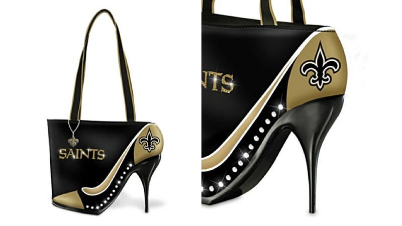 Illustration for article titled Here's a Ridiculous Heel Purse You Can't Bring to an NFL Game