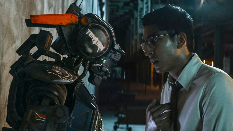 Illustration for article titled Chappie suggests that District 9 director Neill Blomkamp could use a hard reset