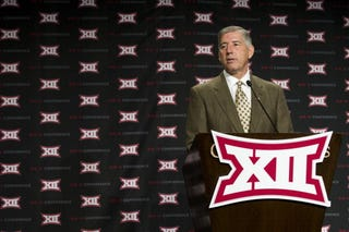 """Illustration for article titled Big 12 Announces There Could Be Two """"One True Champions"""""""
