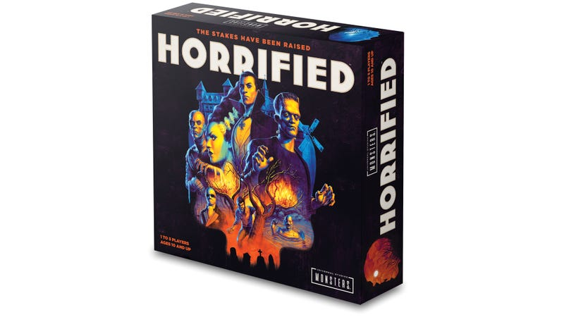 Horrified Board Game Brings All the Classic Universal Monsters Out to Play