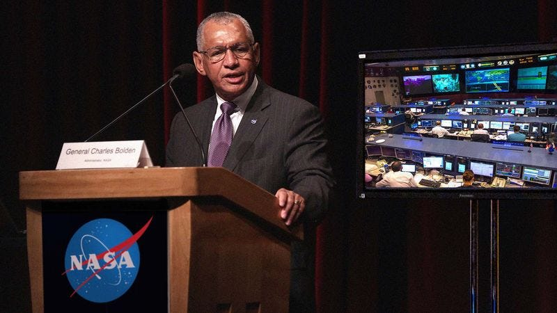 NASA administrator Charles Bolden says that, with dedication and precise execution, the space agency might even be able to go beyond the year 2045.