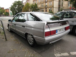 Illustration for article titled Frankfurt Auto Show: Citroen XM Exclusive Down on the Straße