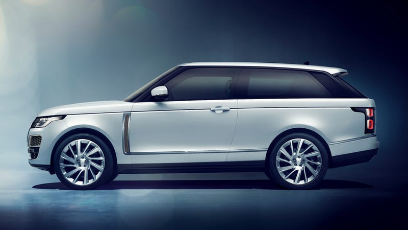 2 Door Range Rover >> The Range Rover Sv Coupe Loses Two Doors For 295 000 But It Looks