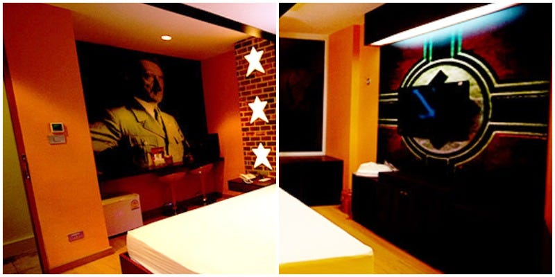 Illustration for article titled Thailand Hotel Decorates Room With Hitler