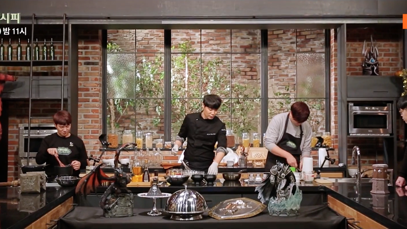 World of warcraft cooking show debuts in south korea for Cuisine 800 wow