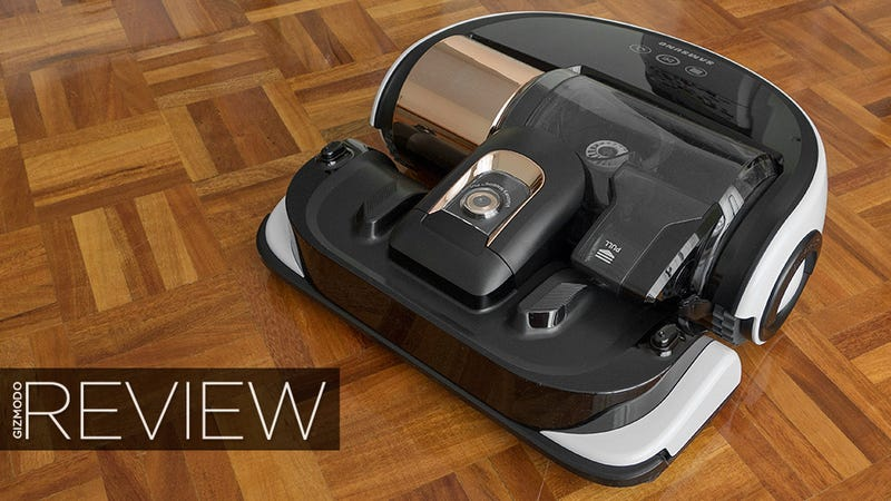 Illustration for article titled Samsung POWERbot VR9000 Review: A Luxury Vac Worth the Price Tag
