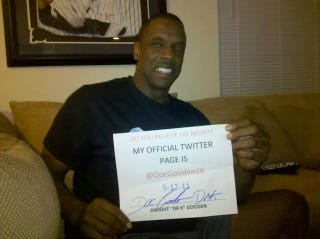 Illustration for article titled This Was A Funny Way For Doc Gooden To Confirm That He Is Really On Twitter