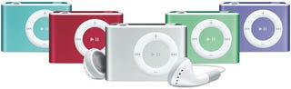 Illustration for article titled iPod shuffle Comes in New Colors, including (Product) Red