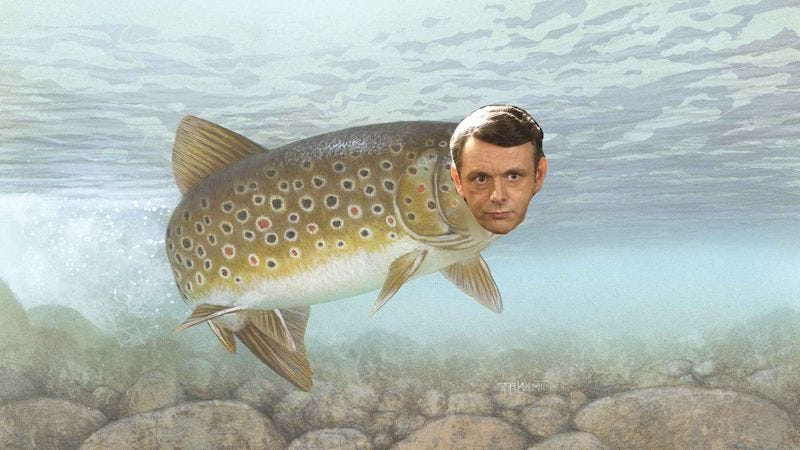 Illustration for article titled Michael Sheen joins other famous people in the voice cast of Finding Dory