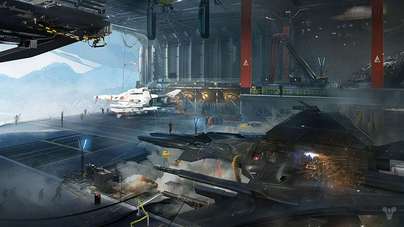 Illustration for article titled Here's A Ton Of New Concept Art For Destiny, Bungie's Next Big Game