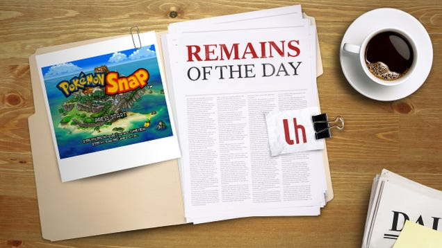 Remains of the Day: OneDrive Can Now Detect Your Images of Pokmon