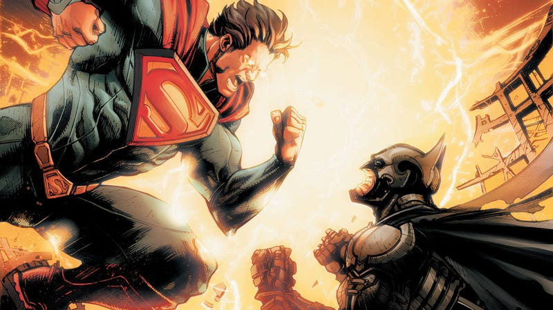 Illustration for article titled In This Week's Injustice Comic, Superman Does the One Thing Batman Never Would