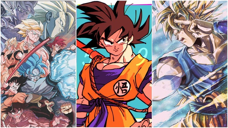 Illustration for article titled Celebrate Goku Day With Excellent Dragon Ball Fan Art