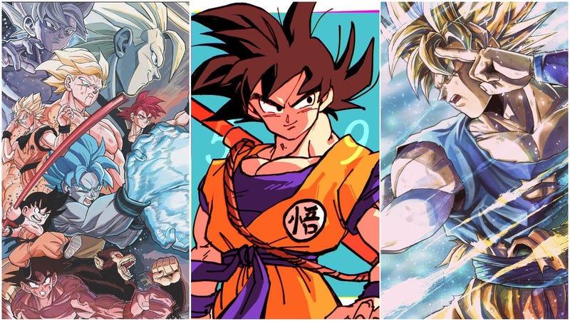 Résultat de recherche d'images pour 'goku fan art'
