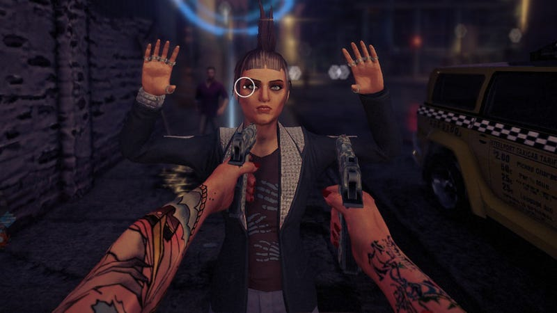 Illustration for article titled Does Saints Row IV Work As A First-Person Shooter? Hell Yes.