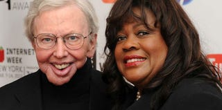 Roger and Chaz Ebert (Stephen Lovekin/Getty Images Entertainment)