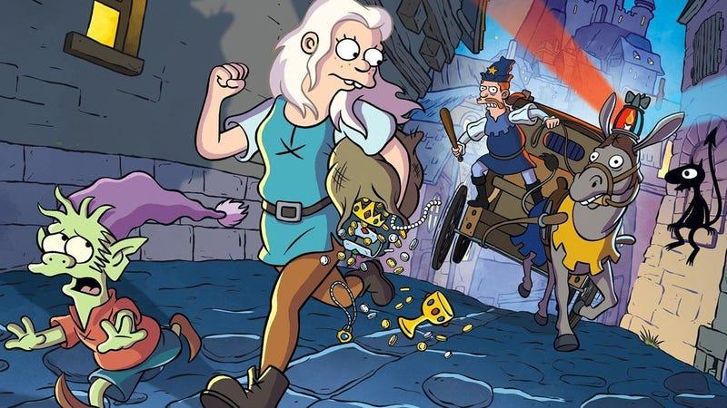Illustration for article titled Disenchantment, la serie del creador de Los Simpson para Netflix, regresa en septiembre