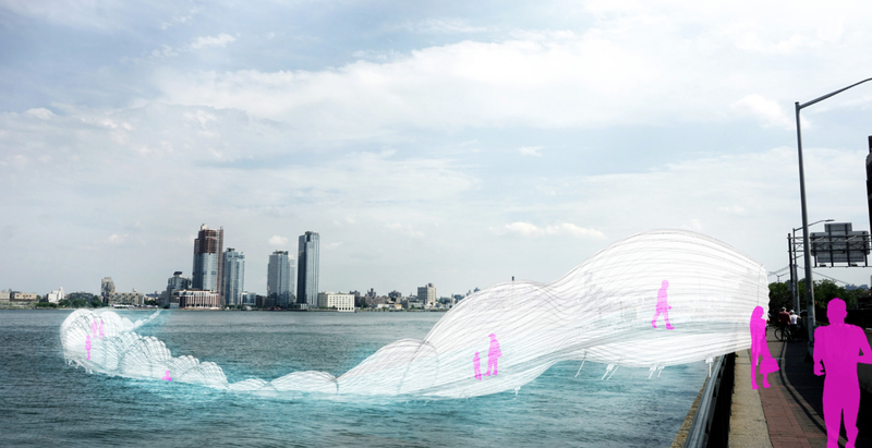 Hope it doesn't blow away. (Image: AECOM's Gonzalo Cruz, Xiaofei Shen, Garrett Avery, Rayana Hossain)