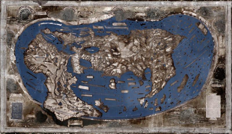 Científicos descifran uno de los mapas que pudo guiar a Cristóbal Colón