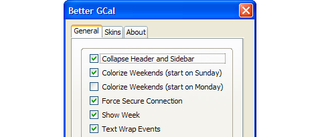 Better GCal Firefox extension adds more features and skins to Google