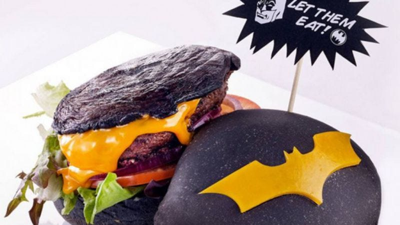 Illustration for article titled Singapore joins Malaysia in the Batman burger game with new DC Comics Cafe