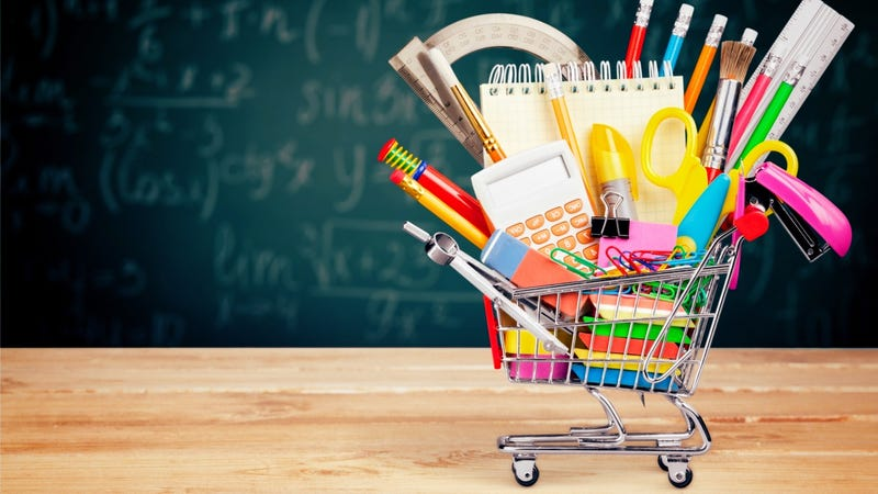 Don't you think some parents over-shop back to school supplies?