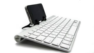 Illustration for article titled Prop Up Your iPad and Type Feverishly with a Wingstand