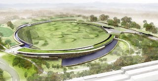 Illustration for article titled Carlin-esque Architects Put Driving Range Atop Water Filtration Plant
