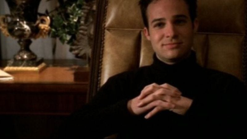 "Illustration for article titled Danny Strong to write Hunger Games: Mockingjay in yet another attempt to get us to stop calling him ""Jonathan from Buffy"""