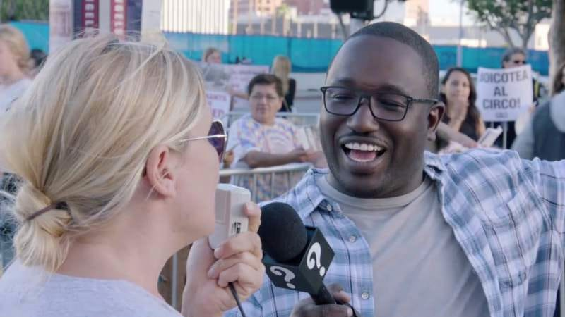 Illustration for article titled Hannibal Buress takes on PETA in this new clip from Why? with Hannibal Buress on Comedy Central