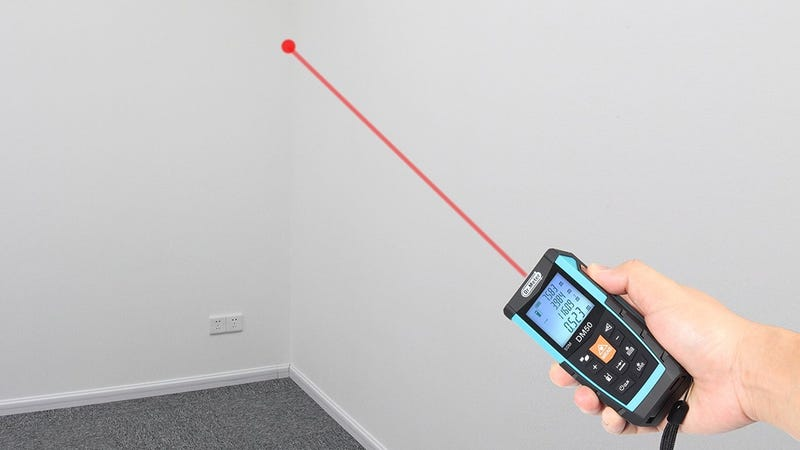 Dr. Meter DM50 Laser Distance Measure, $26 with code QXQYM2RP