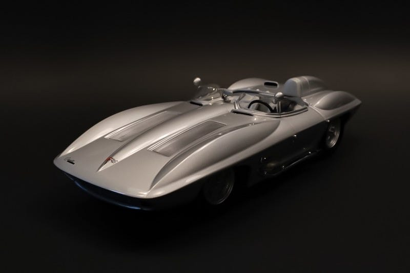 Illustration for article titled 'Murica Monday: AutoArt '59 Stingray Concept