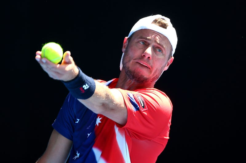 Retired Hewitt takes tilt at Aussie Open doubles