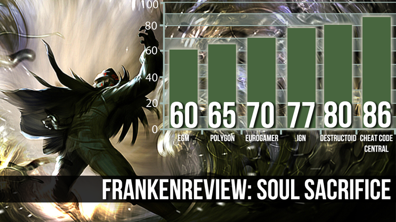 Illustration for article titled Six Reviewers Say Soul Sacrifice Is a Tense but Rewarding Experience