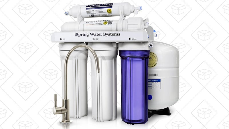 This Discounted Water Filter Installs Under Your Kitchen Sink