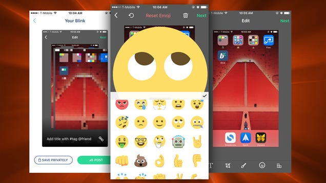 Blink Annotates, Crops, Edits, and Adds Emoji to iPhone Screenshots