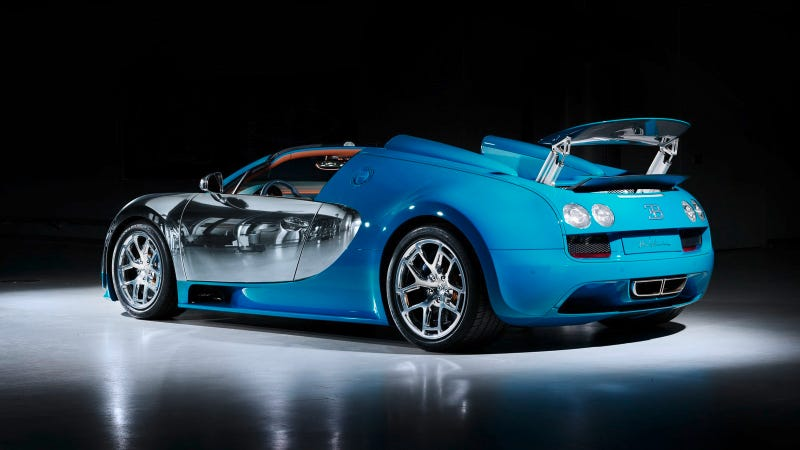 Illustration for article titled This Bugatti Veyron Costs $2.8 Million For Brushed Aluminum