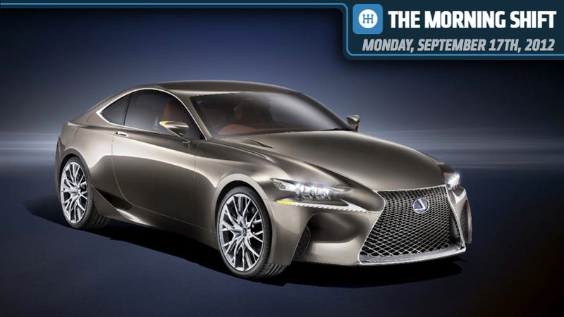 Illustration for article titled Ford In The CAW's Sights, Lexus LF-CC Concept Is Sighted, And Italy Feels Slighted By Fiat