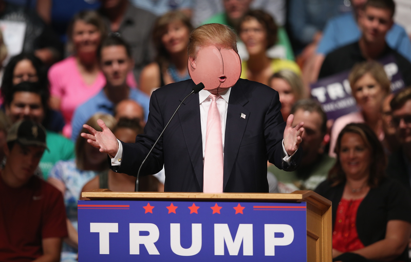 Illustration for article titled Stop Pretending Donald Trump Is Running For President