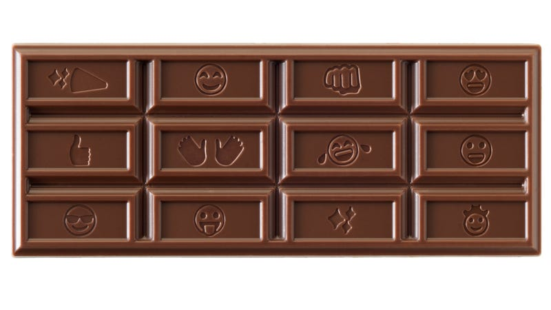 Illustration for article titled Hershey's changes chocolate bar design for first time in over a century for 🤔 reasons