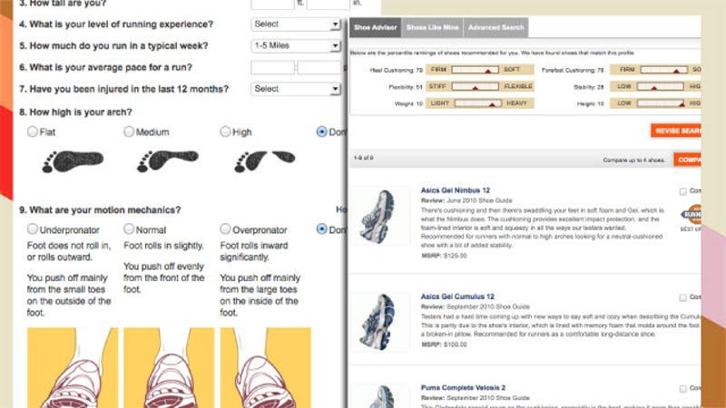 Running Shoe Finder Offers Sneaker Recommendations Customized to ...