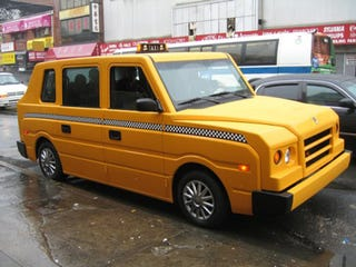 Illustration for article titled Hummer H2 Assembly Line To Produce Just-As-Boxy Standard Taxis